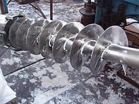 Транспортер нержавеющий шнековый, винтовые, спиральные для пищевой промышленности, фото 1