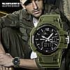 Армейские защищенные часы skmei 1040 green, фото 2