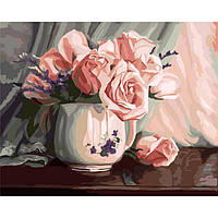 Картина по номерам Романтичность роз 40*50см KHO2042