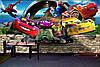 Большой размер! Наклейка виниловая интерьерная настенная на стену Единороги, фото 4