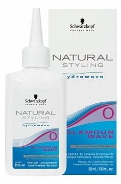 Лосьон для химической гидро завивки №0 Schwarzkopf Glamour Wave №0