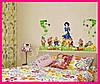 Интерьерная виниловая наклейка в детскую комнату на стену Белоснежка и 7 гномов, фото 7