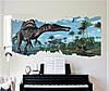 Объемная интерьерная виниловая 3D наклейка детская Динозавры на стену наліпка дитяча Динозаври, фото 3