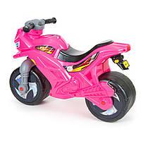 Детский мотоцикл 2-колесный розовый, ТМ Орион (501 Роз)