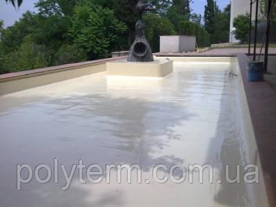 Гидроизоляция бассейнов, водных каналов, резервуаров, декоративных прудов Maris Polymers