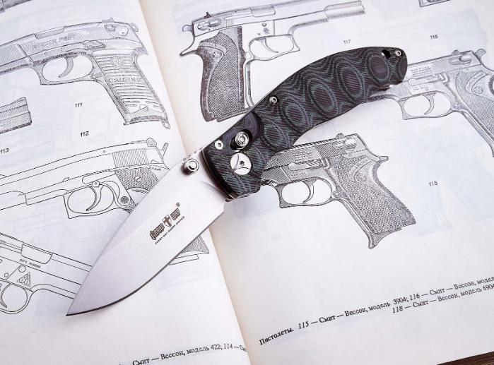 Нож складной, универсальный, крупный, подходящий для походов, охоты и экстремальных ситуаций, с узором
