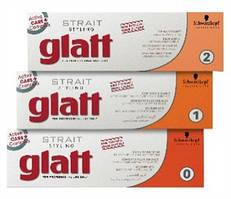 Средство для перманентного выпрямления окрашенных и/или пористых волос Schwarzkopf Strait Styling Glatt kit 2