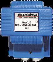 Трансформатор IP67 220 12V 150Вт для  бассейна фонтана герметичный  понижающий для светильника/лампочек , медь