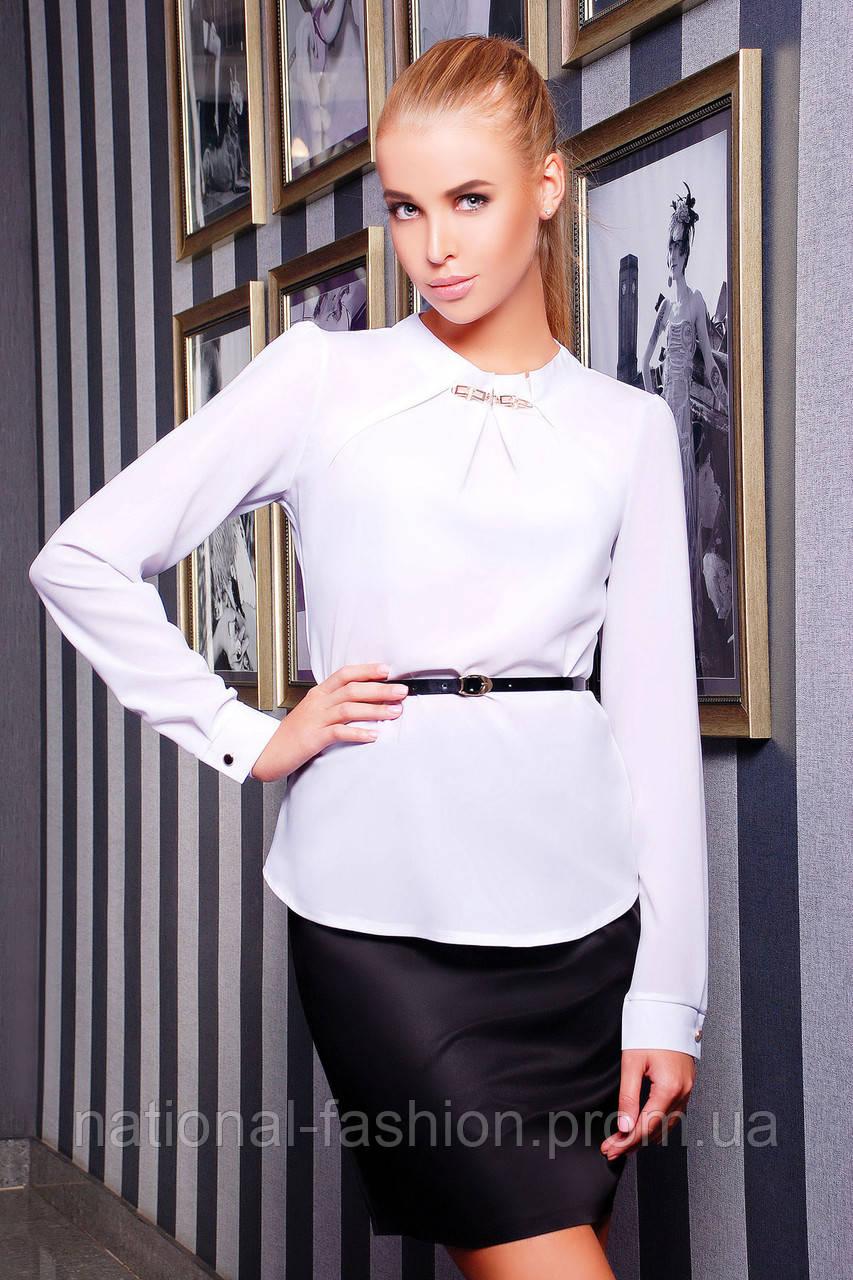 036e803c52b Женская блуза с поясом