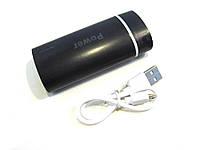Портативная зарядка через USB Power Bank 5600 mah , компактная зарядка