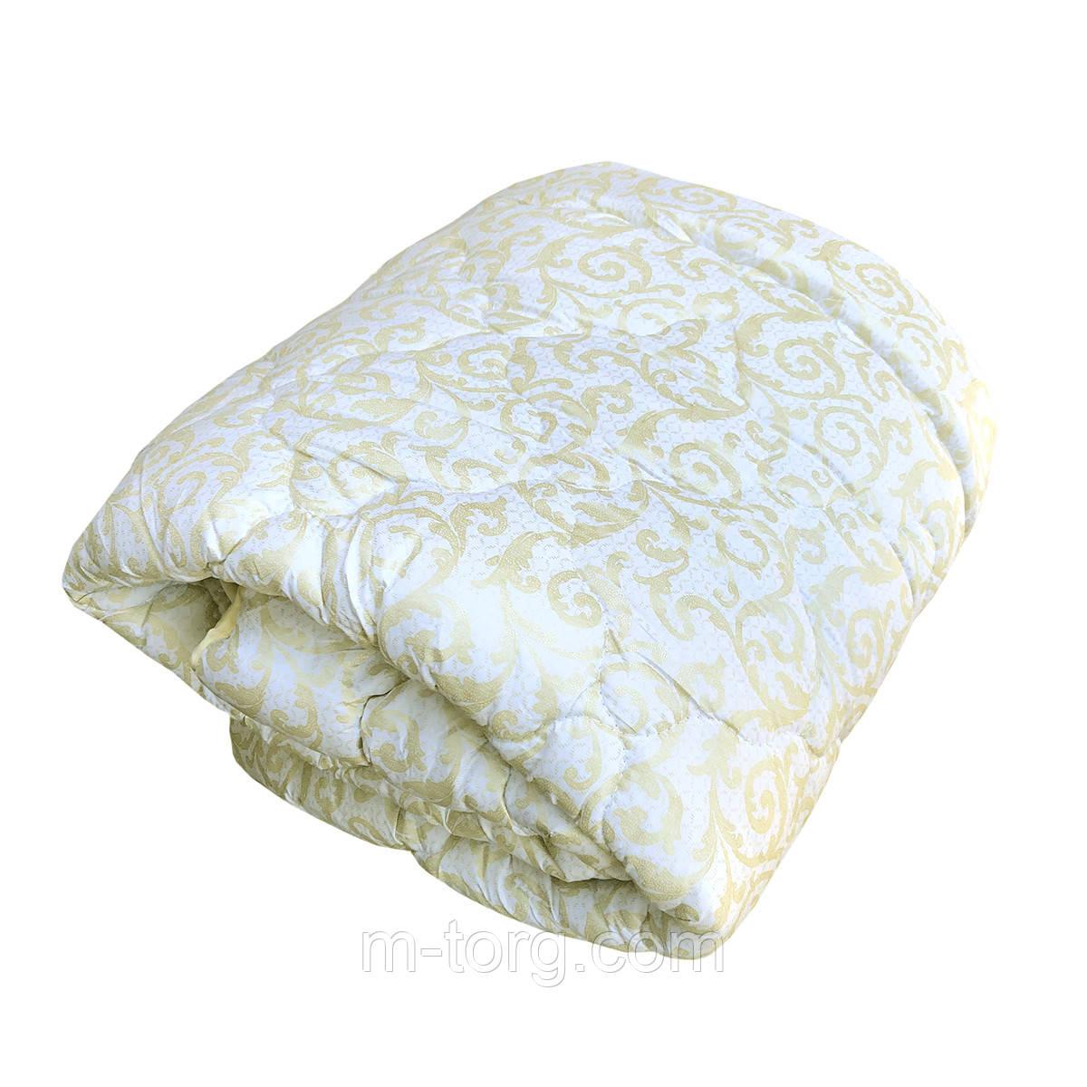 Одеяло полуторное холлофайбер, ткань микрофибра