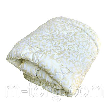 Ковдра полуторна холлофайбер, тканина мікрофібра, фото 2