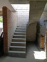 Лестница бетонная для дома