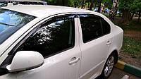 "Дефлекторы окон Chevrolet Aveo III седан 2006-2011 на скотче ""Anv-Air"""