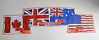 Стенд Флаги англоязычных стран