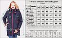Осенняя женская куртка Софт Водоотталкивающая плащевка Размеры 50-60, фото 6