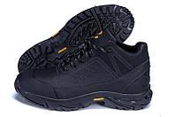 Мужские кожаные зимние ботинки Экко, фото 1