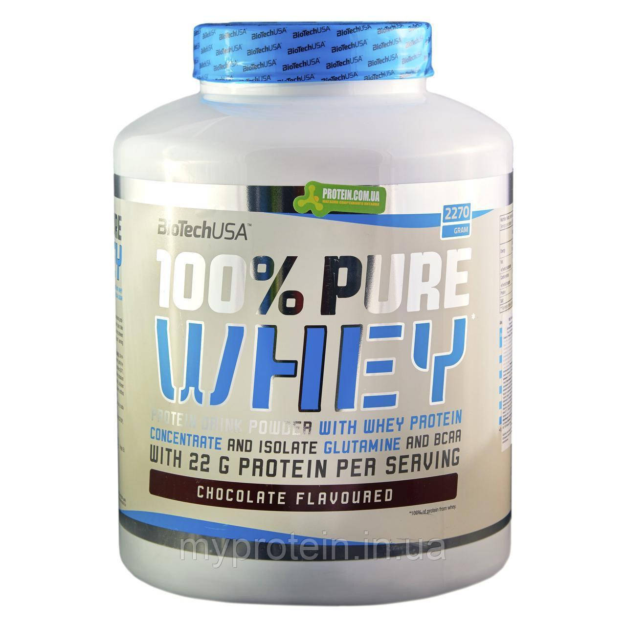 BioTech	Протеины	100% Pure Whey Lactose Free	2,27 kg