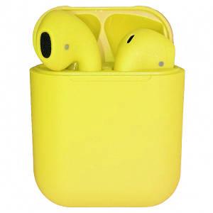 Наушники Apple AirPods i12 color yellow