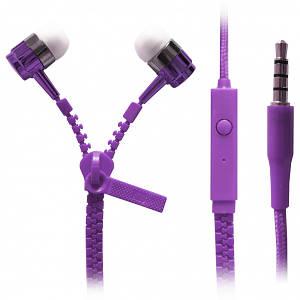 Наушники Zipper Violet