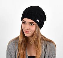 Женская шапка veilo на флисе 3417 черный