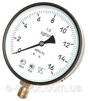 Манометры, мановакуумметры, вакуумметры технические МП4-У, МП 4-У, МП-4У, МП4-У, ВП4-У