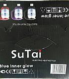 Стеклянный электрочайник Sutai ST-188 / KR-303 1,8л дисковый с подсветкой, фото 2