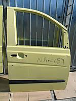 Дверь передняя правая Мерседес Вито 639 бу Vito пассажирская