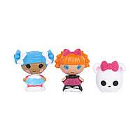 Набор с куклами КРОШКАМИ LALALOOPSY - СНЕЖИНКА И УМНИЦА ОТЛИЧНИЦА