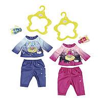 Набор одежды для куклы BABY BORN - ВЕЧЕРНЯЯ ПРОГУЛКА