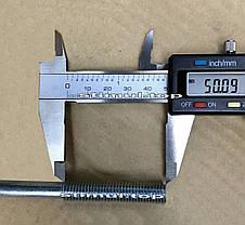 Шпилька сантехническая 8 х 140 мм (50 шт/упак) / Винт-шуруп комбинированный / Гвинт-шуруп сантехнічний, фото 2