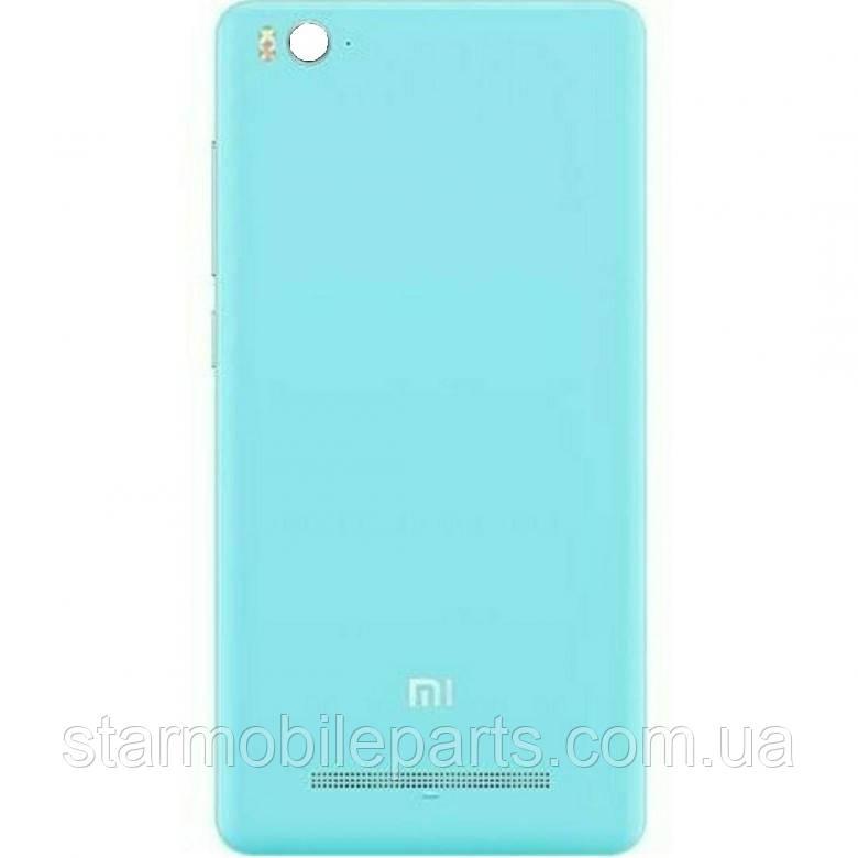 Задня кришка (Задня панель) корпусу для мобільного телефону Xiaomi Mi4i,блакитна/blue