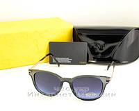 Женские солнцезащитные очки Fendi Graphite Фенди Графит модель 2020 года качество реплика