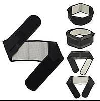 Набор турмалиновых изделий: воротник, пояс., фото 1