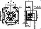 Поршневой насос Hydro-pack ISO-KAVI-80-BD-A, фото 2