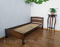 """Ліжко односпальне з масиву дерева """"Березня"""" від виробника"""