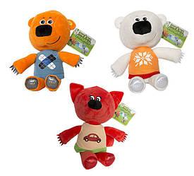 Мягкие игрушки Ми-Ми-Мишки музыкальные 20 см 3 героя