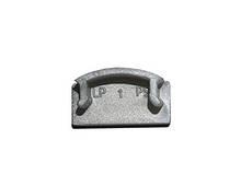 Заглушка BIOM ЗП7 для профиля ЛП7 6х15.5мм