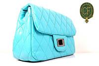 Сумка стеганая женская через плечо Chanel (Шанель) брендовая