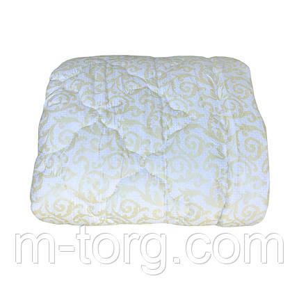 Одеяло евро размер 200/220 холлофайбер, ткань микрофибра, фото 2