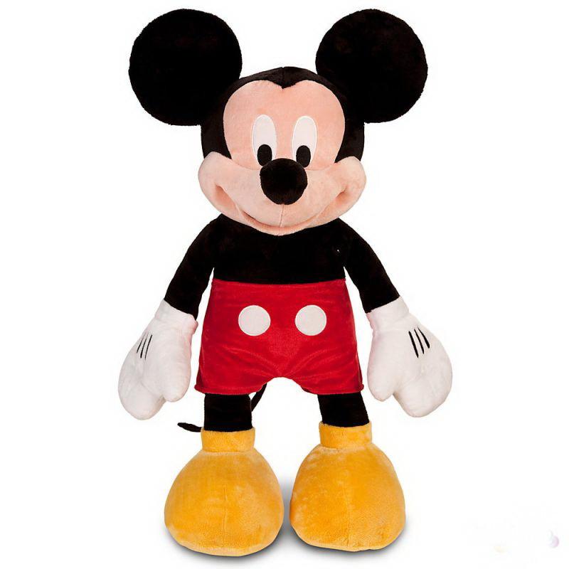 Игрушка мягкая детская Микки Маус размер 40 см с лапами