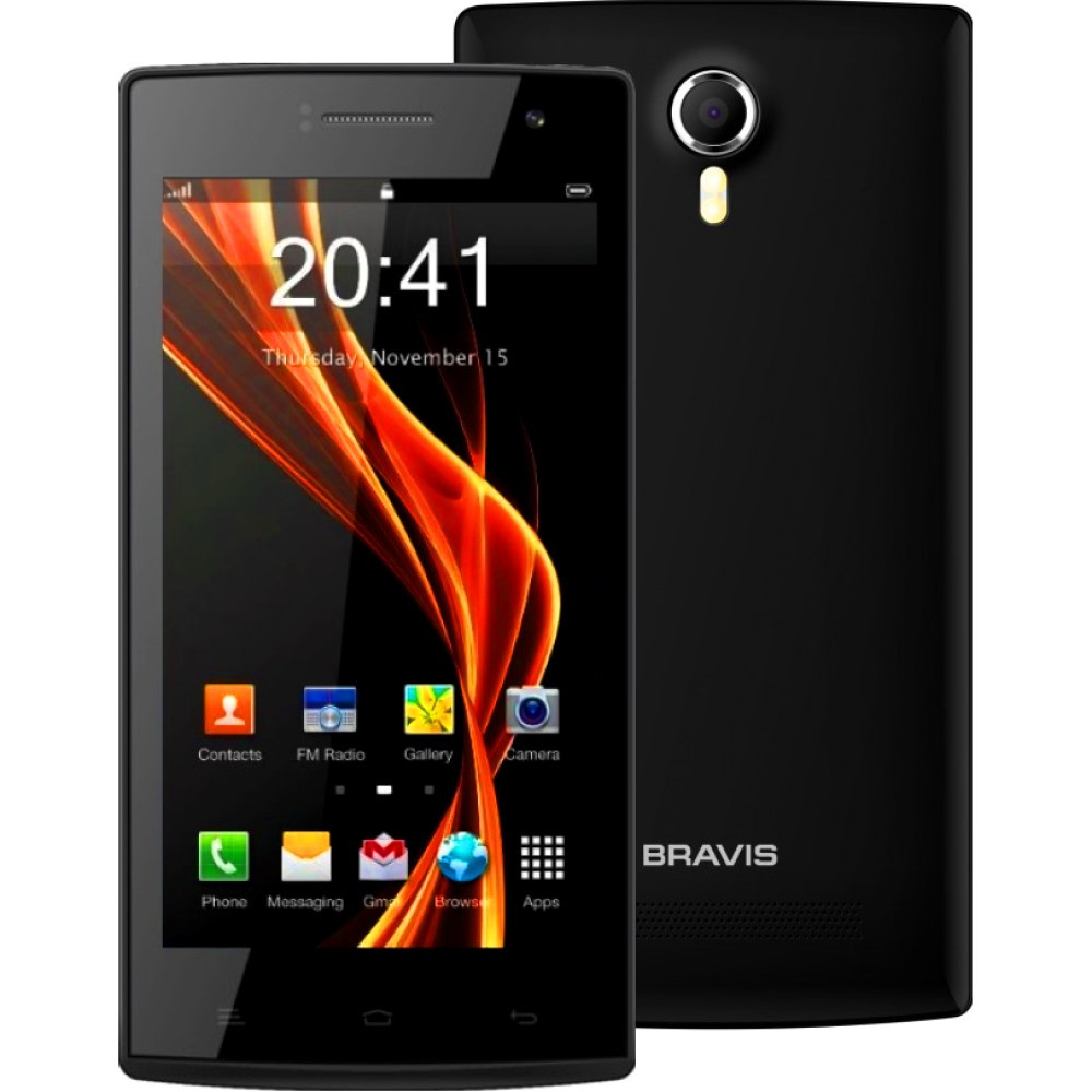 Смартфон Bravis Nova 4Gb Black