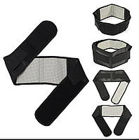Набор турмалиновых изделий: воротник, наколенники, пояс., фото 1