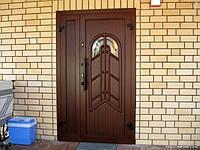 Монтаж деревянной входной двери