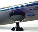 Держатель телефона магнитный ZIRY с клейкой основой, серебро, фото 4