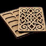 Органайзер для бісеру з дерев'яною кришкою FLZB-048, фото 2