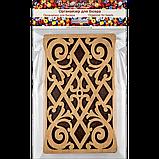 Органайзер для бісеру з дерев'яною кришкою FLZB-048, фото 3