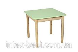 Деревянный (салатовый) столик Bambi (Финекс Плюс)