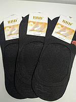 Носки следы женские черные 36-40