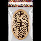 Органайзер для бисера с деревянной крышкой FLZB-057, фото 3